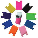 Sticky Silicone Mobile Phone Holder Card Wallet