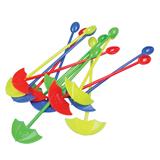 Stir Sticks w/Umbrella shaped Heat-resisting Muddlers