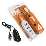 Strip USB 2.0 High Speed 4-Port HUB Sharing Switch