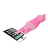 Striped Touching Gloves For Smartphones