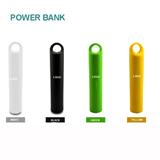 Stylish Mini Power Bank With Strap 2400mAh
