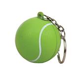 Tennis ball keychain/ stress reliever