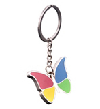 Top Grade Colorful Butterfly Key Chain