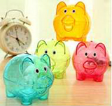Translucent Piggy Storage Coin Bank