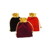 Velour Jewelry Bag