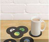 Vinyl Record Drink Coaster