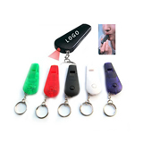 Whistle Keychain With Led Flashlight