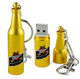 Wine Bottle USB Flash Drives 4GB