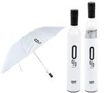 Wine bottle shape Polyester folded umbrella