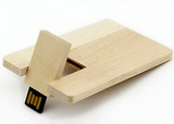 Wood Card USB Flash Drive