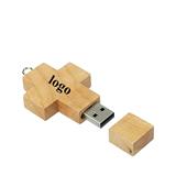 Wood Cross USB 2. 0 Flash Drive