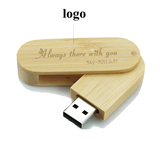 Wood Foldable USB 2. 0 Flash Drive
