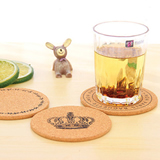 Wood Material Round Table Cup Coaster