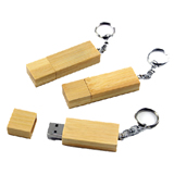 Wood Rectangle USB 2. 0 Flash Drive