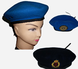 Woollen Knitted Military Berets
