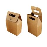 kraft Paper Cookie Bag