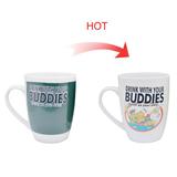 15oz El Grande style Color Changing Mugs