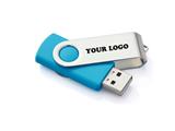 4GB Swing USB Flash Drive w/ Metal Swivel Cover