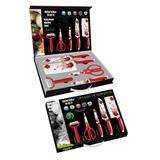 5 Pieces Non-stick Kitchen Knife Gift Set