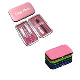 6-Sets PU Leather Case Manicure Set