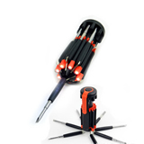 8 in 1 Screwdrivers with Led Flashlight
