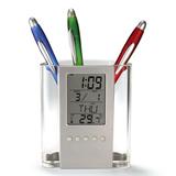 ABS Multifunctional Calendar Pen Container