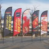Advertising Banner Flag Wind Flag