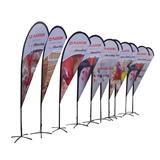 Advertising Teardrop Banner Wind Flag