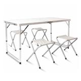 Aluminium Alloy Oxford Cloth Table Set