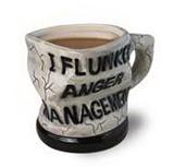 Big Mouth Anger Management Ceramic Mug- 14OZ
