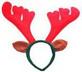Caribou Horn Hair Hoop