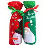 Christmas Wine Bottle Coat
