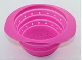 Collapsible Leachate Fruit/ Vegetable/ Rice Basin/ Basket