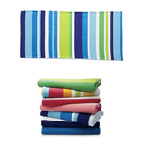 Color Stripe Beach Towel