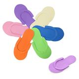 Colorful Disposable EVA Flip Flop;Unisex Hotel Flip Flop