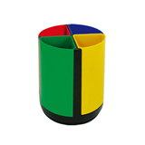 Colorful Pen Holder Made Of Plastic