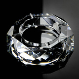 Custom Crystal Glass Ashtray