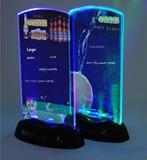 Custom LED Menu Holder