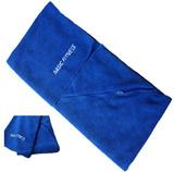 Custom Terry Towel with Zipper Pocket