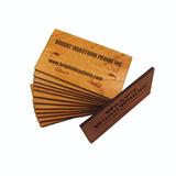 Custom Wooden Name Card