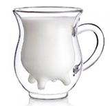 Double Walled Milk Cup With Handle