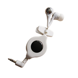 Earbuds With Retractable Wire