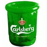 Eco-friendly Portable Clear PVC Ice Bucket