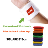 Embroidered Wristbands