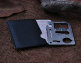 Emergency Survival Pocket Stainless Multi-tool Card