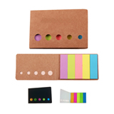 Fashional Fluorescent Sticky Note, Five Hole Memo Pad