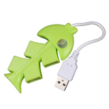 Fish Style USB 2.0 High Speed 4-Port HUB Sharing Switch