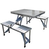 Foldable Aluminium Alloy Table Set
