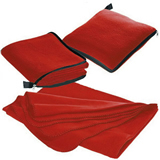 Foldable Pillow Blanket with Zipper