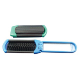 Folding And Portable Plastic Mirror And Comb